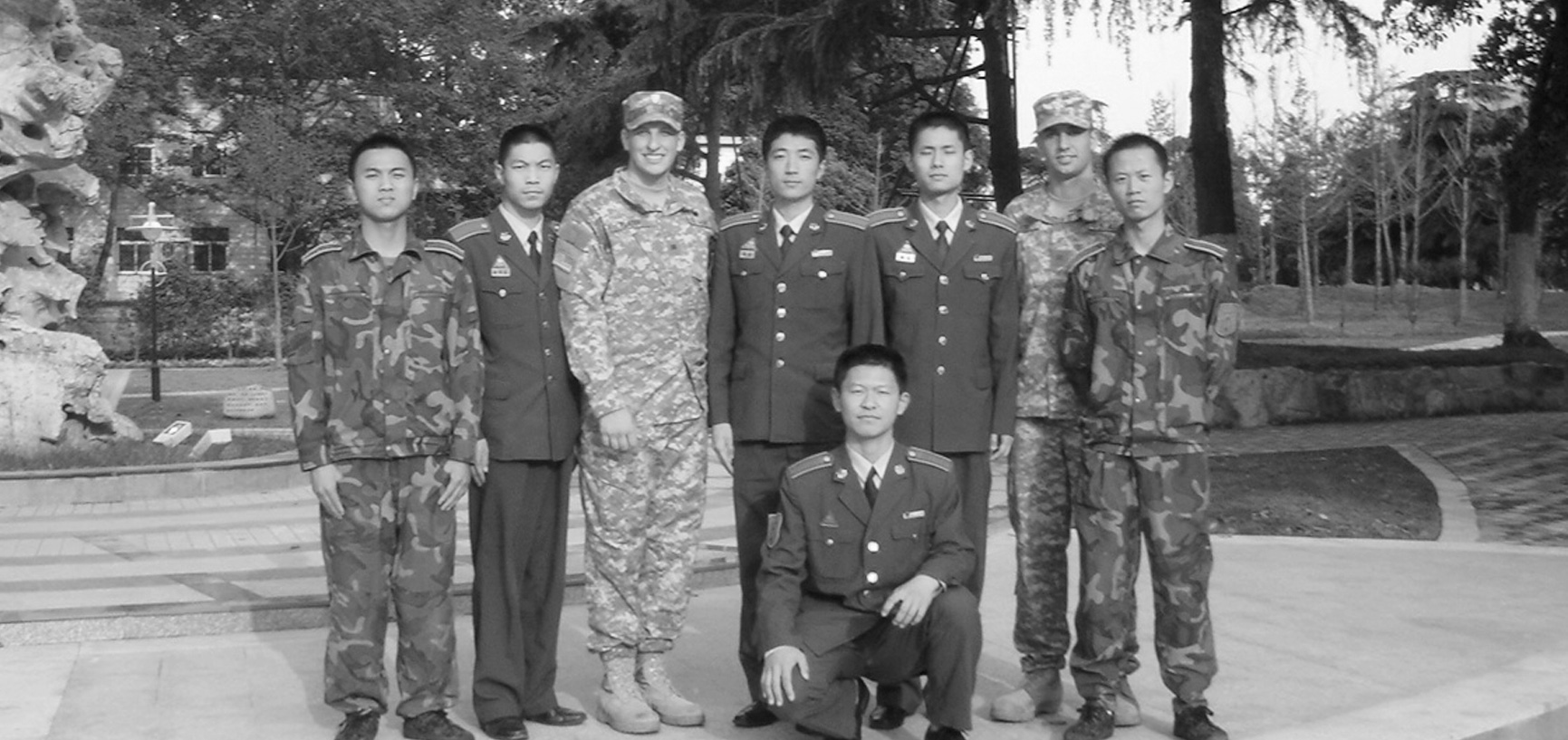West Point and Chinese cadets in China